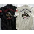 PANDIESTA JAPAN  サイドカーパンダ ウォバッシュニットシャツ パンディエスタ