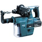 マキタ  HR244DRGXV 充電式ハンマードリル 18V  6.0Ah  集塵システム付