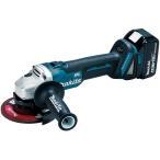マキタ GA504DRGN 充電式ディスクグラインダー 18V 6.0Ah (125mmスライドスイッチタイプ)