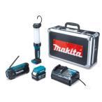 マキタ 防災用コンボキット CK1008 ライト/ラジオ/スマホ充電/