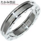 ブルガリ K18WG B.zero1(ビーゼロワン) リング(XS) 指輪(リング) メンズリング(AN852423) #60(19.5号)