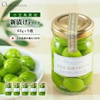 新漬けオリーブ40g 5個セット オリーブ 小豆島産100% 手摘み 小豆島 オリーブアイランド