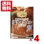 (メール便全国送料無料) カンロ 濃厚ほろにが塩キャラメルキャンディ 4袋セット (ポイント消化)