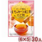 (本州一部送料無料) カンロ ピーチ香るはちみつ紅茶のど飴 (6×5)30入 (Y80)