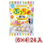 (本州一部送料無料) 味覚糖  ぷっちょボール カラフルアソート (6×4)24入 (Y80)