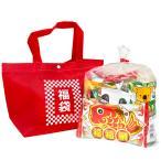 お菓子詰め合わせ カジュアルトート 特小 福袋柄 1袋 500円(LB009)
