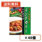 新宿中村屋 インドカリー ベジタブル中村屋 カレー200g×40個 同梱分類【B】