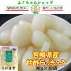 甘らっきょう(上沖産業)90g×10袋【送料無料】