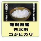 新米 新潟県産 天水田 コシヒカリ 平成29年産 白米 5kg 送料無料(本州のみ)
