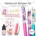 【ハーバリウムペン】 銀 手作りキット ハーバリウム用ボールペン 【メール便対応】 ハーバリウム  ハーバリューム  ハンドメイドペン 手作り