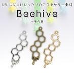 【メール便対応】蜂の巣 Beehive 空枠 UVレジンクラフト用 アクセサリー