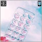2464209fd8 アイフォン ケース カバー スマホ ケース iPhone Design Case Heart Emboss Glitter iPhoneケース ハート  エンボス グリッター 立体的