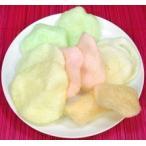 (代引不可 送料無料)彩色龍蝦片 5色 カラー227g/4箱 えびせんべい エビセンベイ