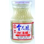 金蘭純糯米天然発酵原味雪花醸・甜酒醸500g×12瓶 台湾産チューニャン 発酵もち米