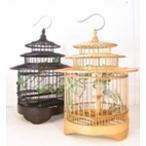 竹製 鳥かご NO:6 小【バード ケージ 】鳥籠インテリア