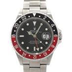 【ROLEX】ロレックス『GMTマスター2 赤×黒ベゼル』16710 F番'04年頃製 メンズ 自動巻き 12ヶ月保証【中古】