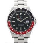 【ROLEX】【内部点検済】ロレックス『GMTマスター2 赤×黒ベゼル』16710 L番'89年頃製 メンズ 自動巻き 12ヶ月保証【中古】