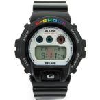 【CASIO】【G-SHOCK】カシオ『Gショック ア ベイシングエイプ コラボモデル』DW-6900 メンズ クォーツ 1週間保証【中古】
