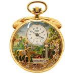 【TISSOT】ティソ『リュージュ からくりオルゴール付き 懐中時計』TY504.251 手巻き 1ヶ月保証【中古】