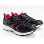 レディース ジョギングシューズ スポルディング JN-201 ブラック ピンク シルバー パープル 3E EEE 軽量 ゆったり設計 運動靴