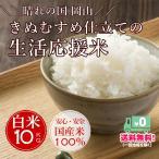 米 米10kg 送料無 生活応援米 白米10kg 送料無料 オリジナルブレンド米