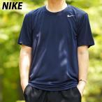 ナイキ Tシャツ メンズ 上 NIKE ドライ 吸汗速乾 半袖 DRI-FIT レジェンド 718834 NVY 送料無料