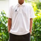ジョーダン ポロシャツ メンズ 上 JORDAN ジャンプマン バスケットボール 半袖 AO9225 WHT 送料無料 アウトレット 半額以下