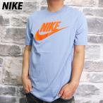 ナイキ Tシャツ メンズ 上 NIKE 春 夏 ビッグロゴ 綿 100% S M L XL XXL 半袖 AR5005 BLU 送料無料 アウトレット SALE セール