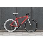 Dampflok(ダンプフロック)【組立・整備発送】WACHSEN(ヴァクセン)BSC-7001    アルミクロスバイク
