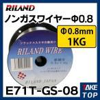 RILAND 半自動溶接機用 ノンガスワイヤー Φ0.8mm E71T-GS-08 フラックス入り 適応機種:MIG100など