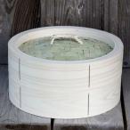 【国産】檜中華蒸籠(せいろ) 蒸し料理が美味しくできる 日本製蒸し器30cm身蓋セット