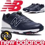 ニューバランス ゴルフシューズ ボア クロージャーシステム 軽量 スパイク メンズ New Balance golf boa MGB574NW