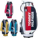 トミーヒルフィガー ゴルフ メンズ キャディバッグ 9型 3.2kg 5分割 カートバッグ THMG9SC5 TOMMY HILFIGER