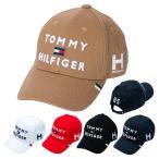 トミーヒルフィガー ゴルフ キャップ 帽子 メンズ レディース ロゴ スポーツ サイズ調節 黒 白 ネイビー 赤 青 緑 ピンク 黄色 THMB903F
