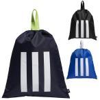 アディダス ゴルフ シューズバッグ メンズ シューズバック シューズケース 巾着 カジュアル 紺 ネイビー 青 ブルー 黒 ブラック GUV82 adidas