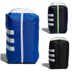 アディダス ゴルフ シューズバッグ シューズバック メンズ シューズケース カジュアル 紺 ネイビー 青 ブルー 黒 ブラック GUV85 adidas