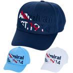 アドミラル ゴルフ キャップ メッシュ メンズ 帽子 メッシュキャップ ロゴ 刺繍 ブランド 定番 サイズ調節 ベースボールキャップ 白 紺 サックス ADMB1F14