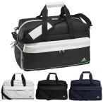 アディダス ゴルフ ダッフルバッグ メンズ レディース バッグ 鞄 ジップポケット ショルダーストラップ adidas golf 黒 ブラック 白 ホワイト 紺 ネイビー 23191