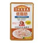 いなばペットフード INABA 低脂肪 とりささみ&鶏軟骨 RD-04 犬用フードウェット80g 成犬用総合栄養食