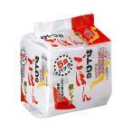 サトウのごはん 銀シャリ 5食パック (200g×5食) レトルトご飯 レトルトごはん | さとうのごはん インスタント 佐藤食品 国産米 うるち米 お徳用 パウチ食品