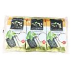 韓国味付のり 3袋詰(8切8枚×3) 韓国海苔 味付け海苔 おいしい海苔 韓国のり