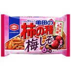 ■亀田製菓 柿の種 梅しそ 6袋入り