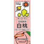 チルド飲料 豆乳 キッコーマン豆乳飲料 白桃 200ml