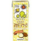 チルド飲料 豆乳 キッコーマン豆乳飲料マカデミア200ml