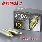 【12箱セット 送料無料!】NTG ソーダカートリッジ 8g×10本入×12箱セット(合計120本)