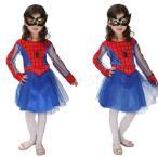 人気 2点セット ハロウィン 衣装 子供 女の子 コスチューム スパイダーマン キッズ halloween パーティーグッズ cosplay イベント用品 仮装 衣装 可愛い 演出