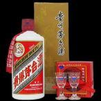 白酒 スピリッツ 貴州茅台酒(キシュウマオタイシュ)ショットグラス2個 500ml 53度 1ケース(12本入り)  3024-2021a-12