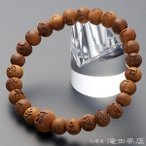 腕輪念珠 数珠 ブレスレット 光明真言彫り インド白檀 8mm(尺二玉)