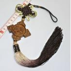 中国結び つるし飾り (木彫り) 中国雑貨  幸せを