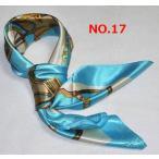 華麗な高級シルク調スカーフ 90角正方形大判レディース スカーフ dfj6d17